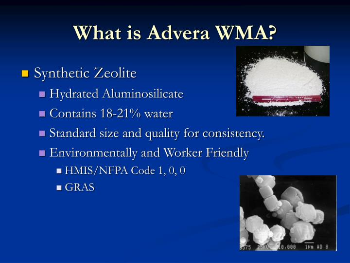 What is advera wma