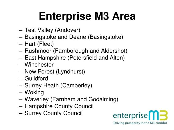 Enterprise M3 Area