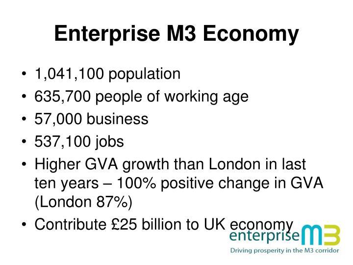 Enterprise M3 Economy