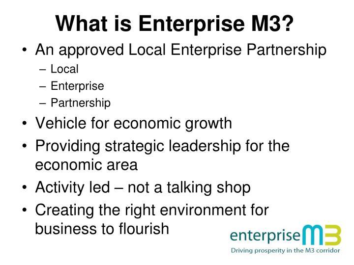 What is enterprise m3