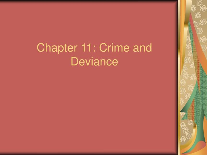 chapter 11 crime and deviance n.