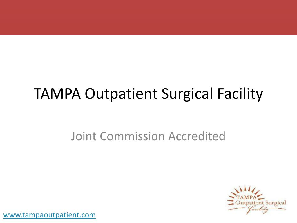 tampa outpatient surgical facility l.