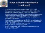 steps recommendations continued1