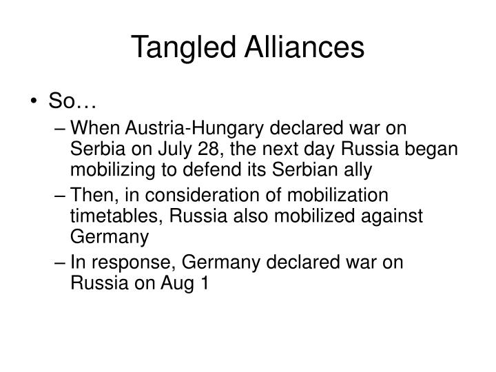 Tangled Alliances