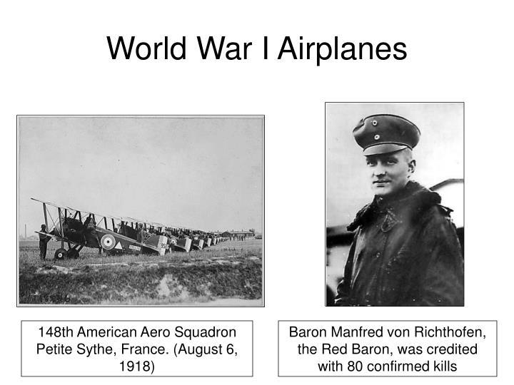 World War I Airplanes
