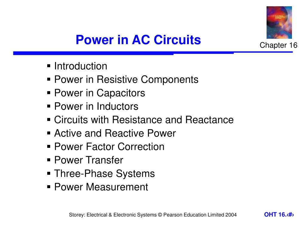 Ppt Power In Ac Circuits Powerpoint Presentation Id1241966 Circuit Inductance And Capacitance Lcr Series N
