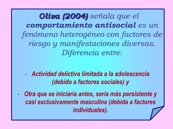 Oliva (2004)
