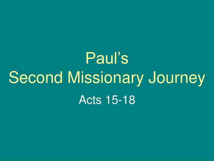 pauls ministry to thessalonica essay