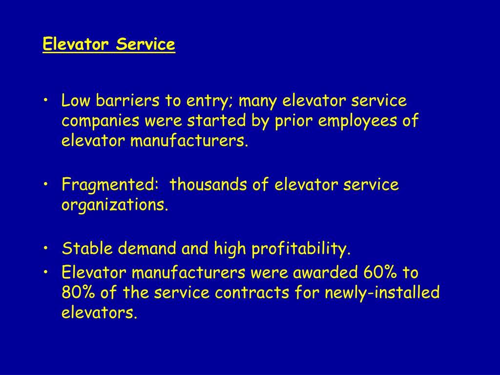 PPT - Otis Elevator PowerPoint Presentation - ID:1242362