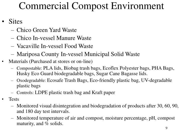 Commercial Compost Environment