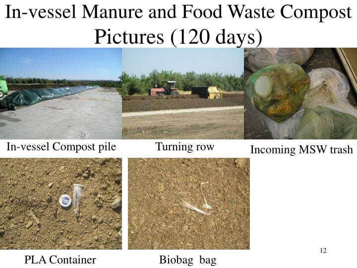 In-vessel Manure and Food Waste Compost