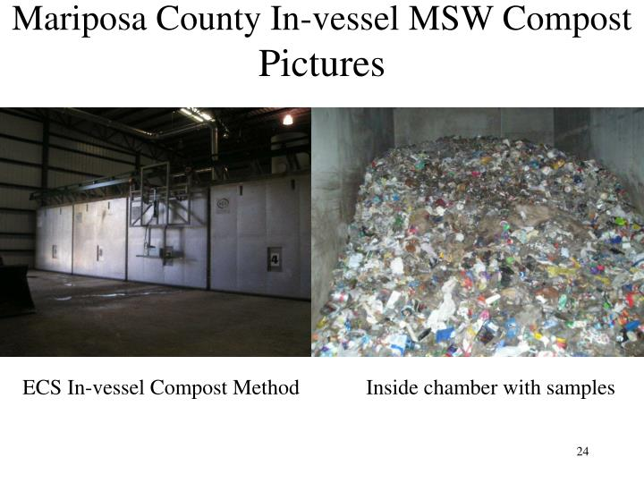 Mariposa County In-vessel MSW Compost