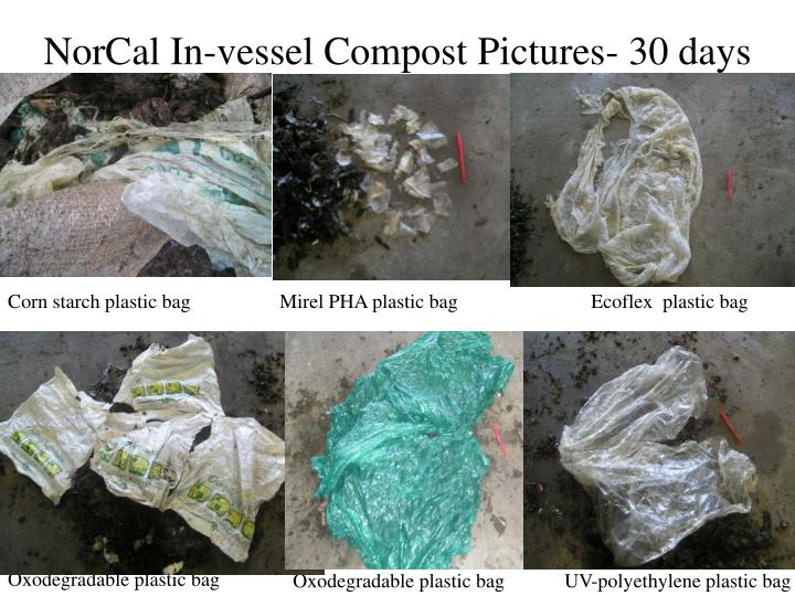 NorCal In-vessel Compost Pictures- 30 days