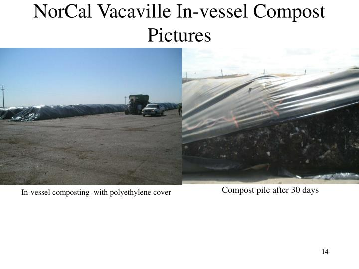 NorCal Vacaville In-vessel Compost Pictures