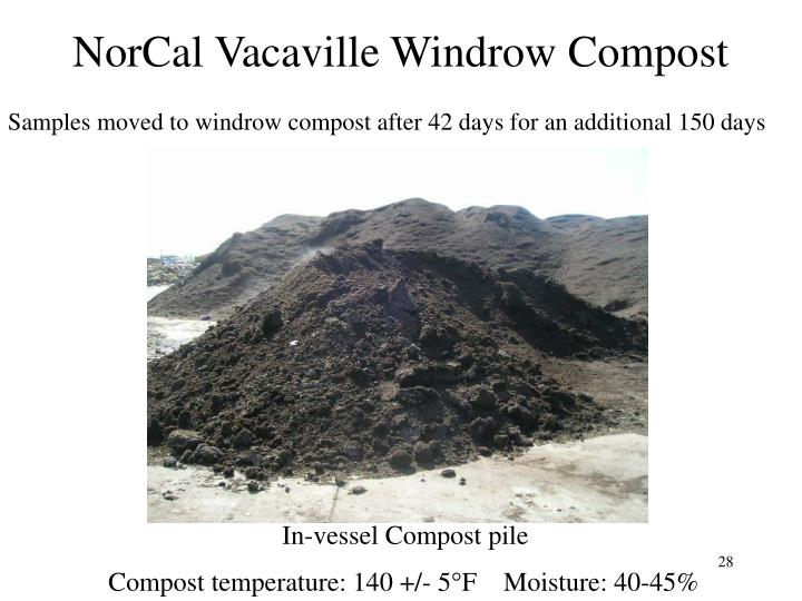 NorCal Vacaville Windrow Compost