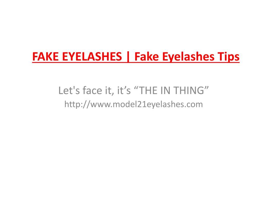 fake eyelashes fake eyelashes tips l.