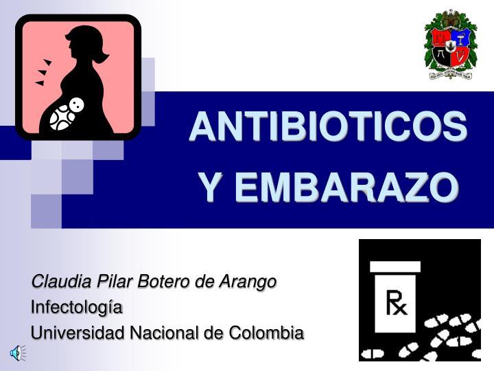 antibioticos y embarazo n.