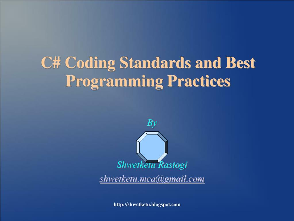 c coding standards and best programming practices l.