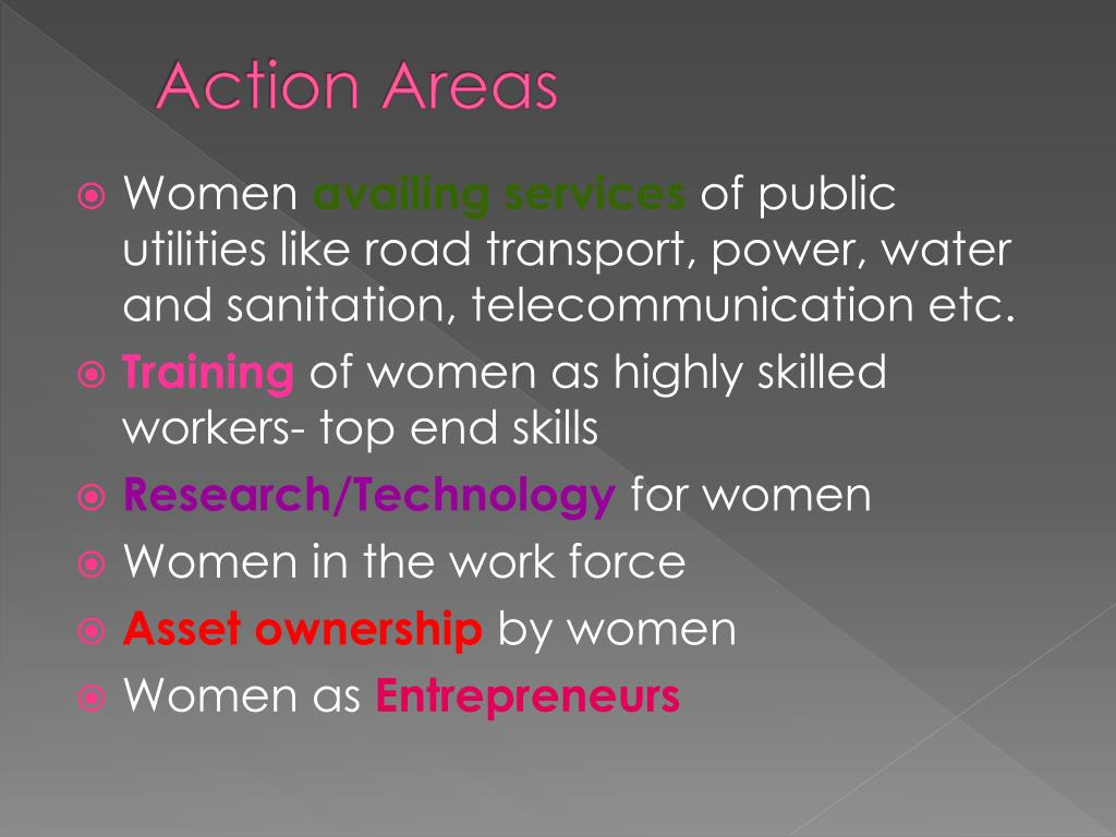 Action Areas