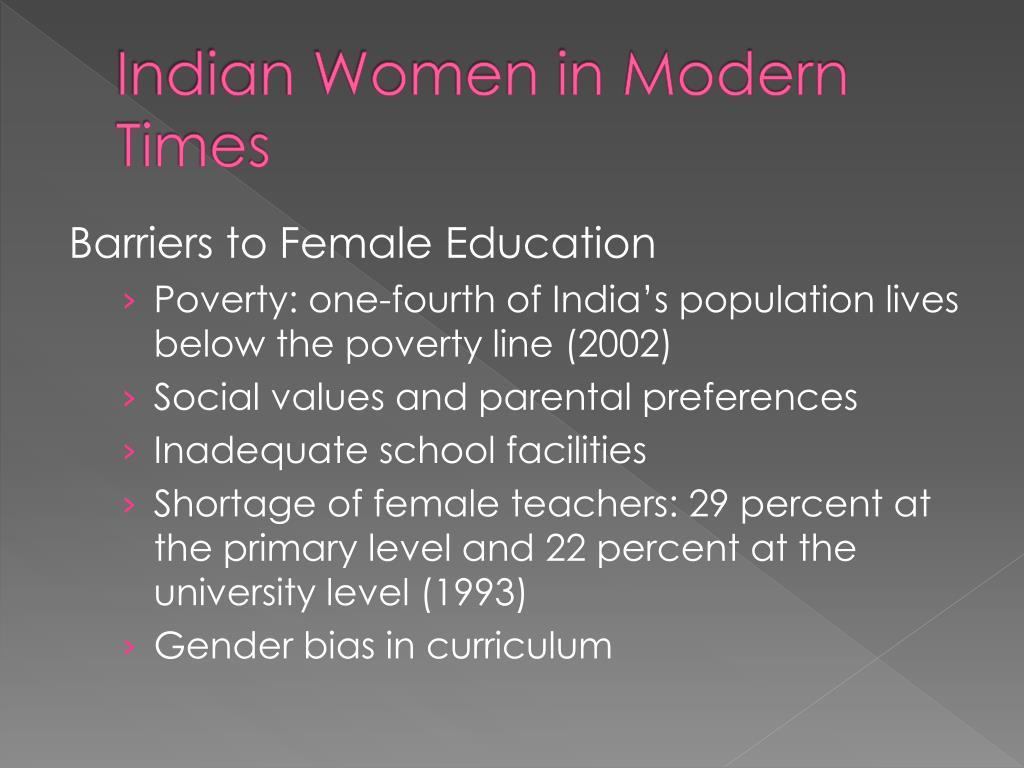 Indian Women in Modern Times