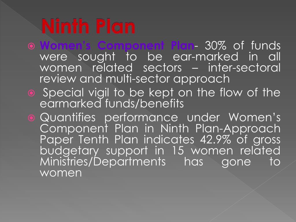 Ninth Plan