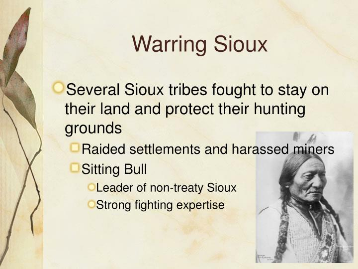 Warring Sioux