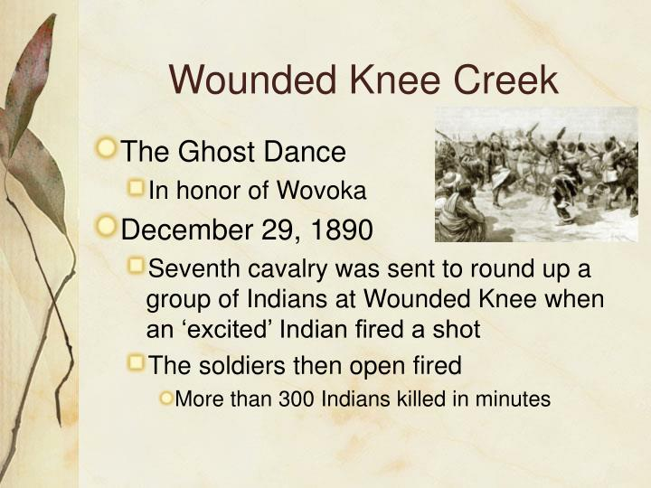 Wounded Knee Creek