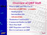 overview of qrp stuff3
