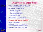overview of qrp stuff5