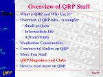 overview of qrp stuff7