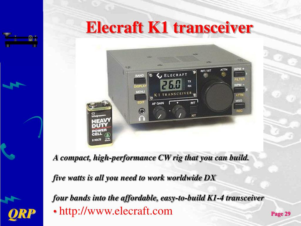 PPT - QRP Show & Tell PowerPoint Presentation - ID:1242866