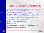 some commercial qrp kits