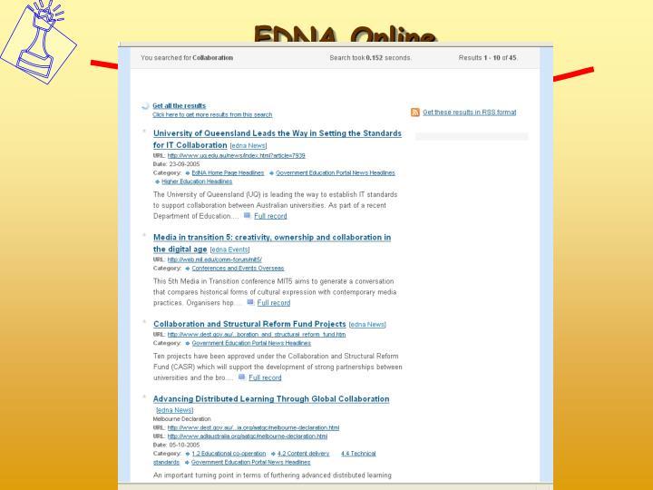 EDNA Online