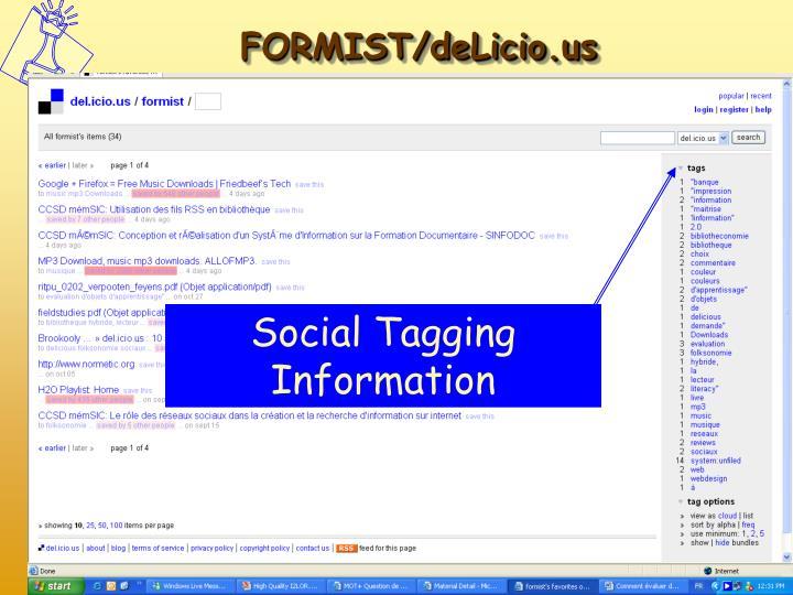 Social Tagging Information