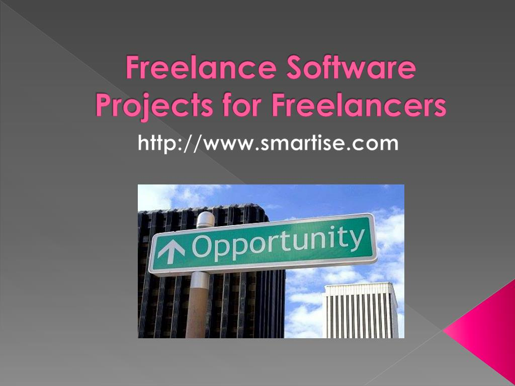freelance software projects for freelancers l.
