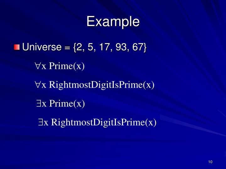 x Prime(x)