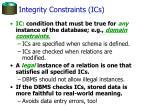 integrity constraints ics