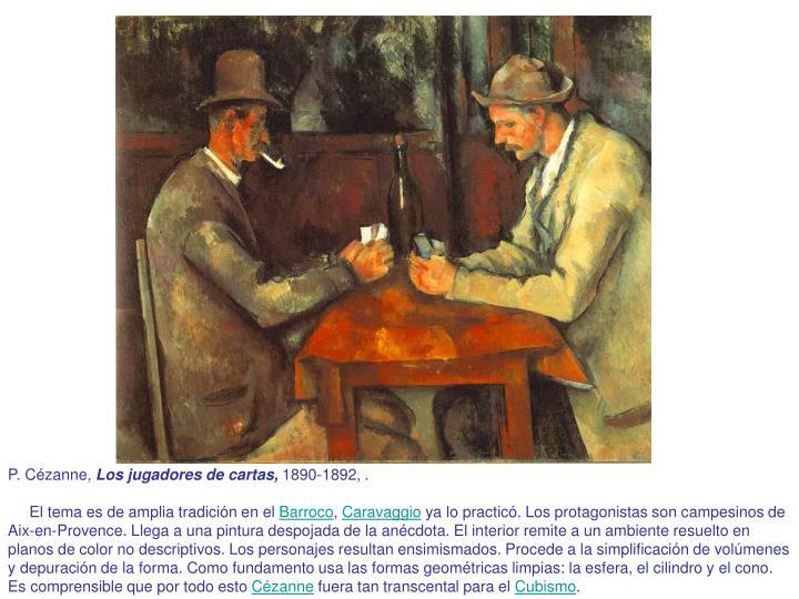 P. Cézanne,