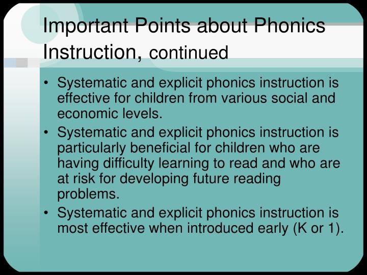 Ppt Research Based Instruction In Reading Powerpoint Presentation