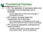 foundational premises