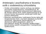 arteterapia i psychodrama w leczeniu os b z osobowo ci schizoidaln