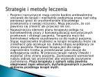 strategie i metody leczenia1