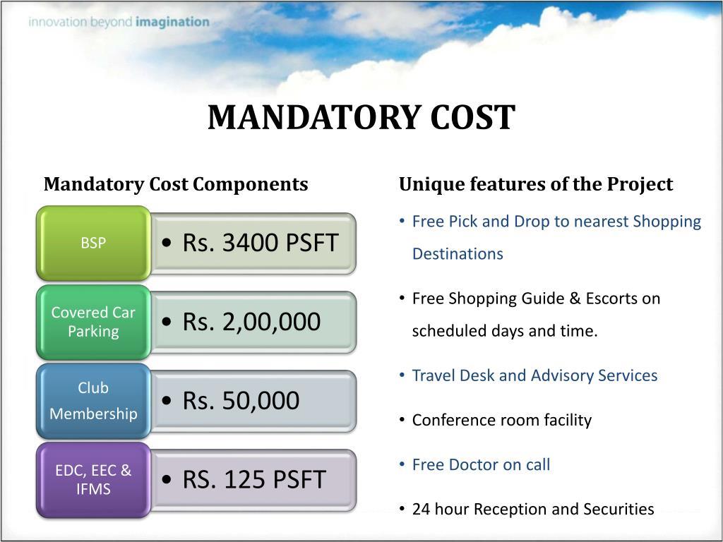 MANDATORY COST