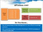optional cost