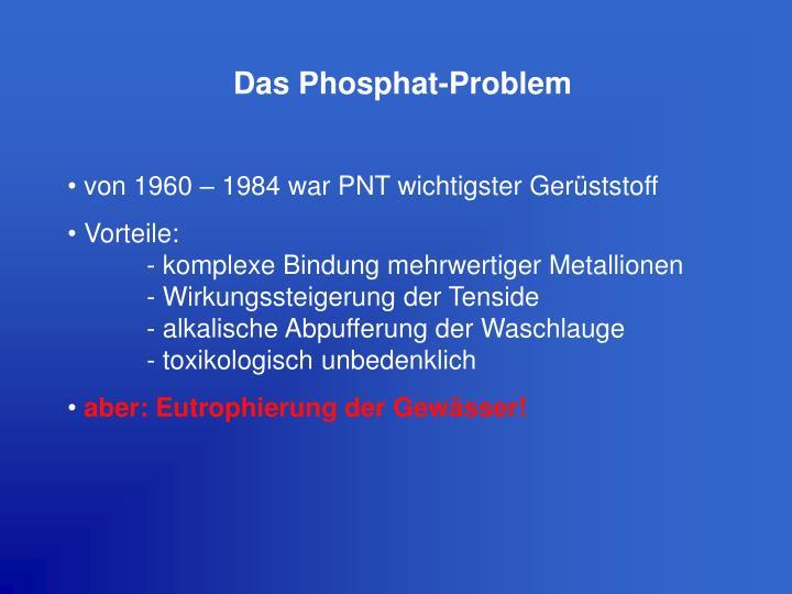 Das Phosphat-Problem