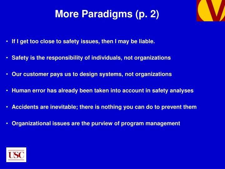 More Paradigms (p. 2)