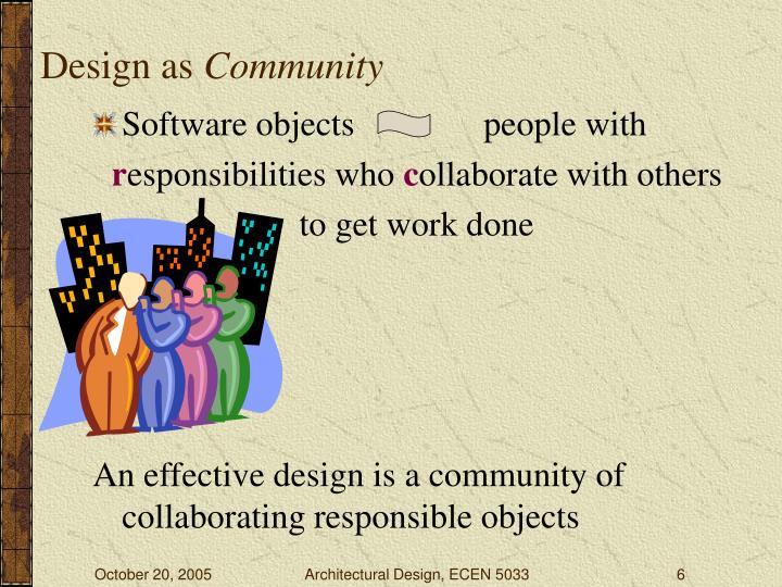 Design as