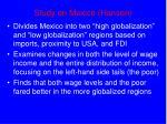 study on mexico hanson