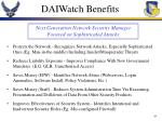 daiwatch benefits
