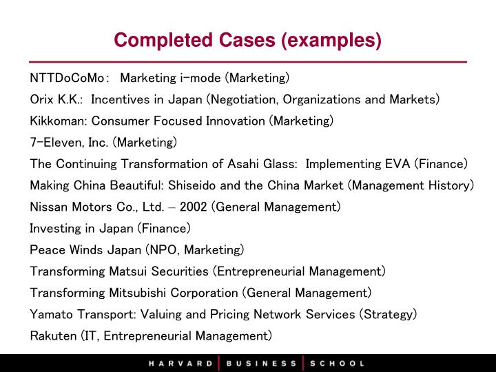 Ppt Activities Of Japan Research Office Harvard Business